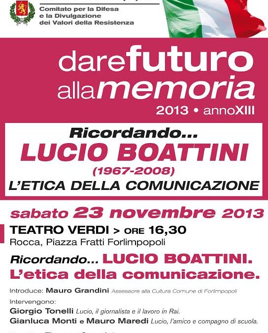 23.11.13 – Ricordando Lucio Boattini – Forlimpopoli