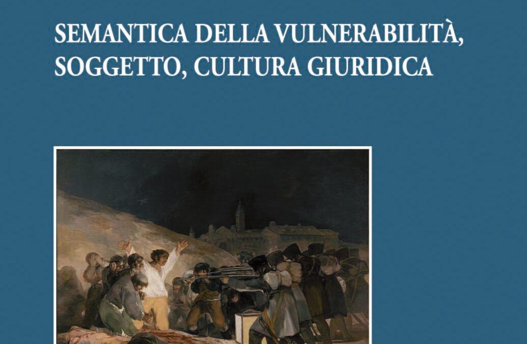 Semantica della vulnerabilità, soggetto, cultura giuridica