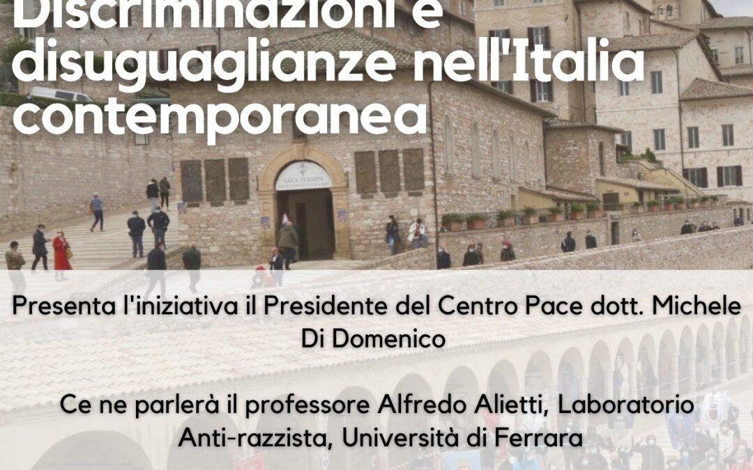 Discriminazioni e disuguaglianze nell'Italia contemporanea