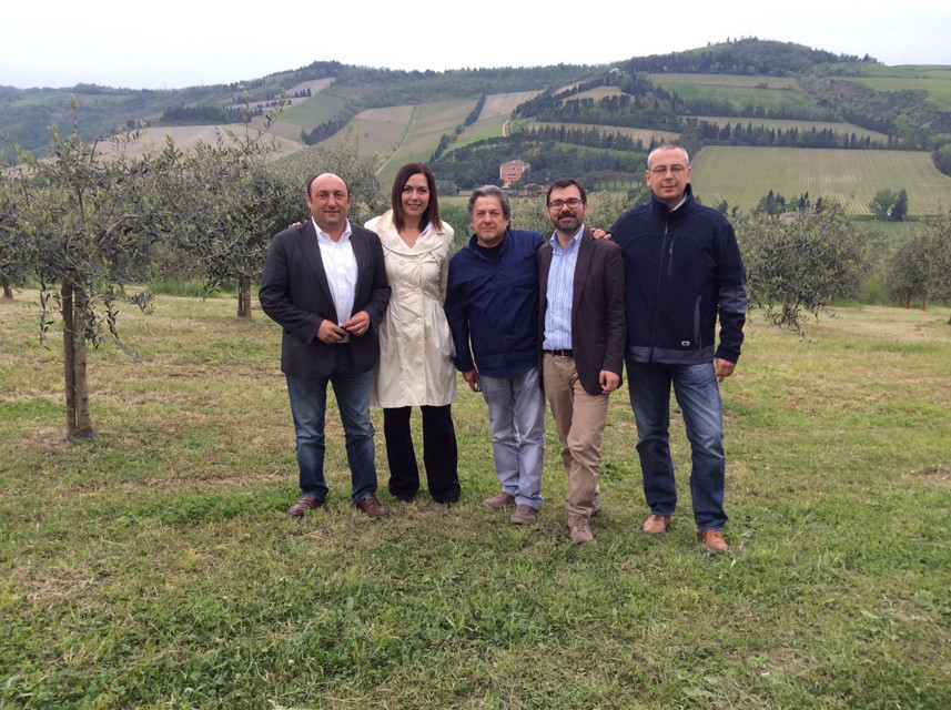 Assessore Paola Gazzolo a Predappio-2