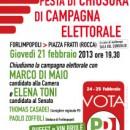 21.02.13 – Chiusura della campagna elettorale – Forlimpopoli (FC)