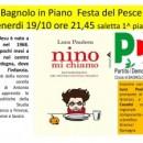 """19.10.12 – Presentazione del libro """"Nino mi chiamo"""" – Bagnolo in Piano (RE)"""