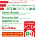 18.02.13 – Lavoro, Legalità, Welfare. I perché del voto al PD – Forlì